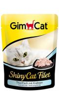 GimCat ShinyCat Filet тунец с крабом
