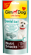 GimDog Nutri Snacks Dental 2in1 Лакомство для зубов