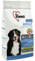 1st Choice Adult Dog Medium & Large Breeds с курицей