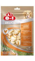 8in1 Delights Chicken XS Жевательные косточки для собак