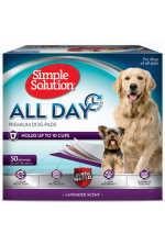 Simple Solution All Day Premium Dog Pads  58x61