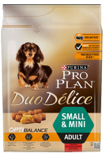 ProPlan Duo Delice Adult Small & Mini с говядиной