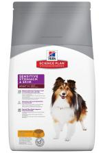 Hill's SP Canine Adult Sensitive Stomach & Skin c Курицей