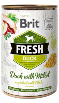Brit Fresh Duck with Millet с уткой и пшеном