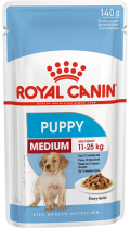 Royal Canin Medium Puppy в соусе