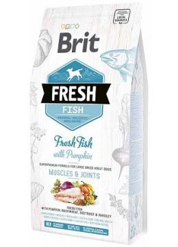 Brit Fresh Adult Large Breed Fish & Pumpkin