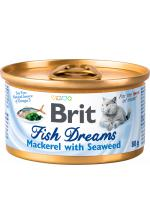 Brit Fish Dreams Скумбрия и водоросли