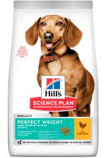 Hill's SP Canine Adult Perfect Weight Small & Miniature с курицей