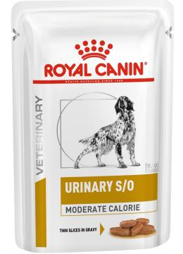 Royal Canin Urinary S/O Moderate Calorie Canine в соусе