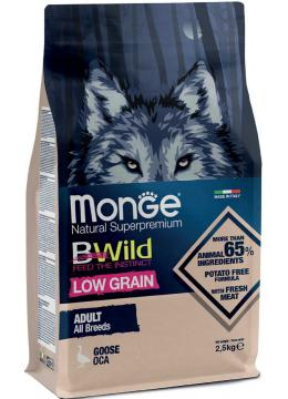 Monge BWild Low Grain All Breeds Adult с гуся