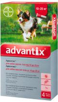 Bayer Advantix для собак от 10 до 25 кг