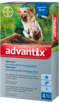 Bayer Advantix для собак от 25 кг