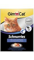 GimCat Schnurries лакомство с лососем и таурином
