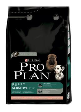 ProPlan Puppy Medium Sensitive Skin с лососем