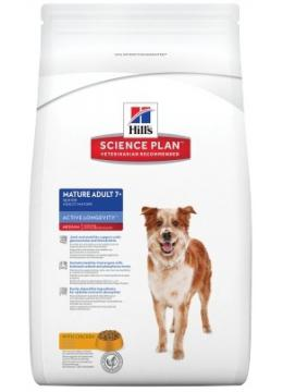 Hill's SP Canine Mature Adult 7+ Medium Breed с курицей