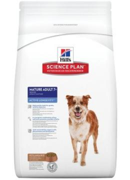 Hill's SP Canine Mature Adult 7+ Medium Breed с ягненком и рисом