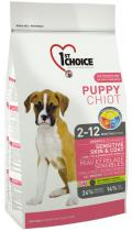 1st Choice Puppy All Breeds - Sensitive Skin & Coat