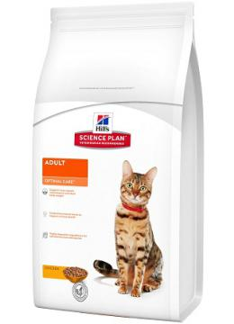 Hill's SP Feline Adult Optimal Care с курицей
