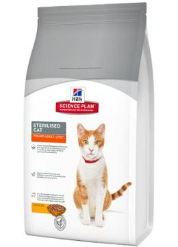 Hill's SP Feline Adult Young Sterilised Cat с курицей