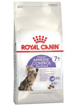Royal Canin Sterilised Appetite Control 7+