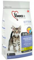 1st Choice Kitten с курицей