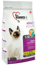 1st Choice Adult Cat Finicky с курицей