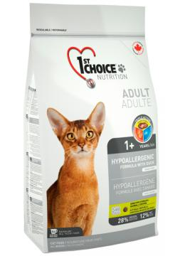 1st Choice Adult Cat Hypoallergenic с уткой
