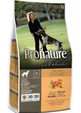 Pronature Holistic Dog Adult All Breeds с уткой и апельсинами