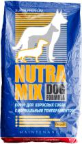 Nutra Mix Dog Formula Maintenance