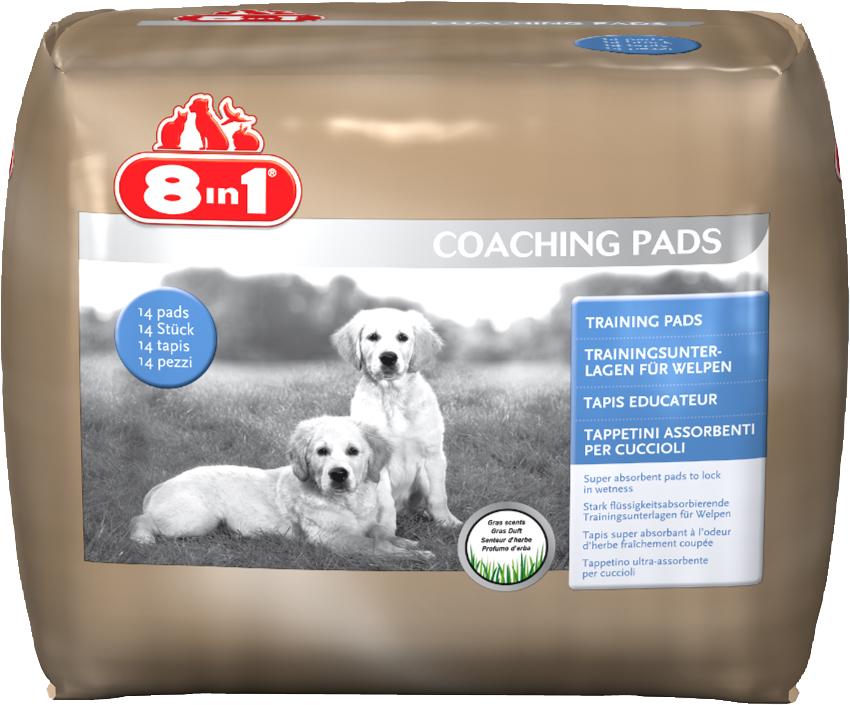 8in1 660296 8in1 Training Pads Приучающие пеленки60х60, 30 шт