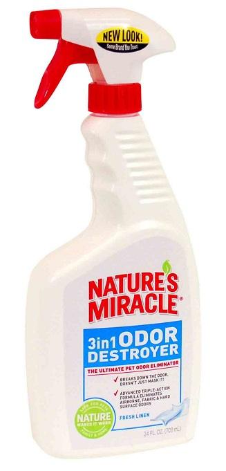 8in1 680194 /5451 8in1 Уничтожитель запахов 3 в 1 спрей без запаха, 710 мл