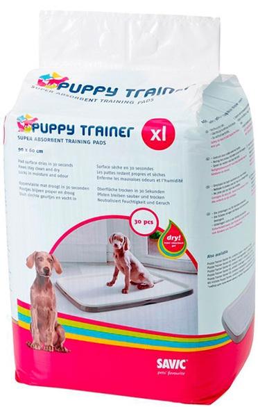 savic 3522_0000 Savic Puppy Trainer XL Пеленки для собак, 15 шт