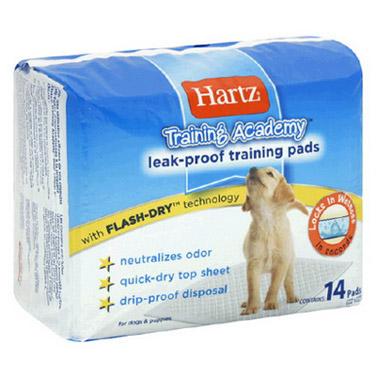 hartz h04156 Hartz Training Academy Training Pads Пеленки для собак 56x56, 14 шт