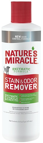 8in1 680012/6960 8in1 Nature's Miracle Stain & Odor Remover Уничтожитель собачьих пятен и запахов, 473 мл