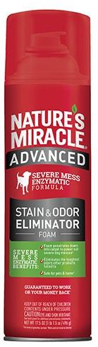 8in1 680135/6946 8in1 Nature's Miracle Advanced Formula Пена усиленной формулы от собачьих пятен и запахов, 518 мл