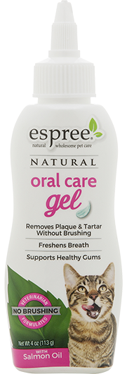 espree e03020 Espree Cat Oral Care Gel - Salmon Flavor Гель для зубов, 118 мл
