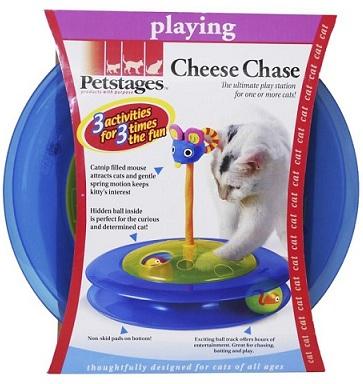 petstages pt367 Petstages Chase Трек с мячиком и мышкой, 31 см