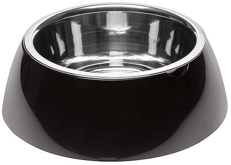 ferplast 70982017 Ferplast Jolie Black Металлическая миска, 0,5л/17,1х5,5см