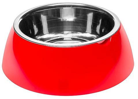 ferplast 70983022 Ferplast Jolie Red Металлическая миска, 0,85л/20х6,7см