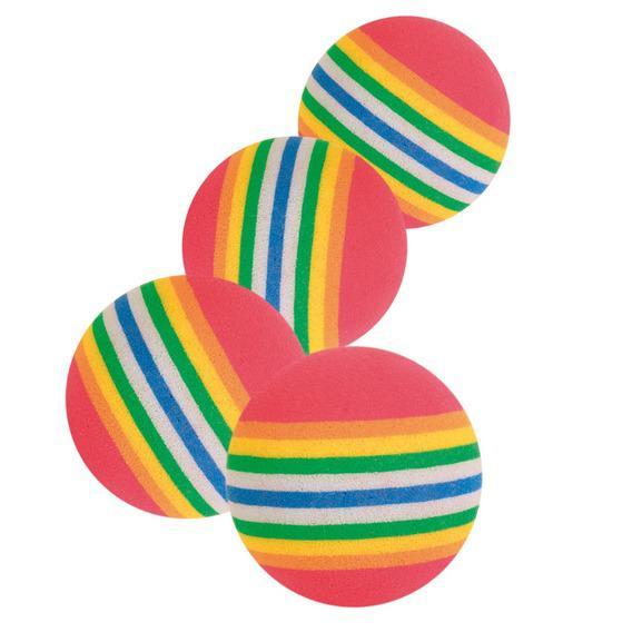 trixie 4097 Trixie Набор радужных мячей, 3,5 см
