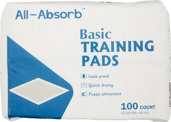 all-absorb All-Absorb Basic Пеленки для собак 56х56, 100 шт