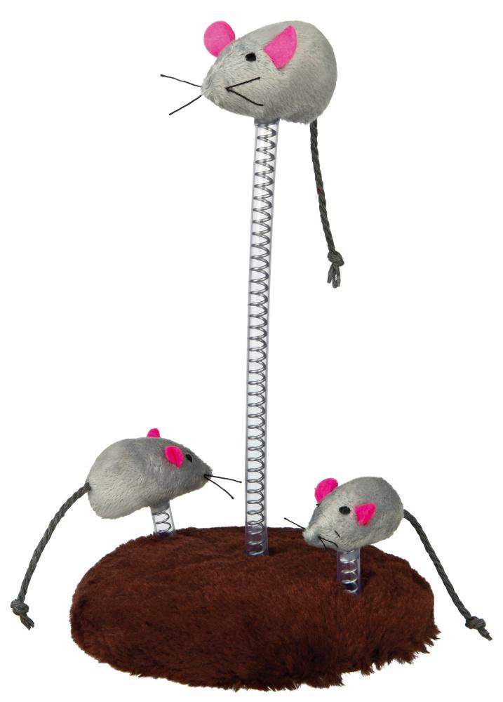 trixie 4070 Trixie Мышь на подставке, 15х22 см