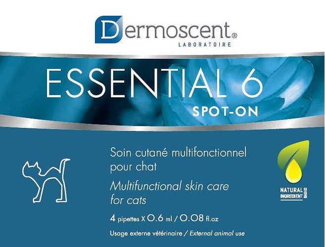 dermoscent 11501 Dermoscent Essential-6 spot-on для кошек, 0.6x4шт мл