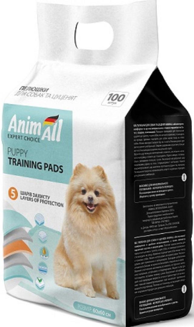 animall AnimAll Puppy Training Pads для собак и щенков 60х60, 10 шт