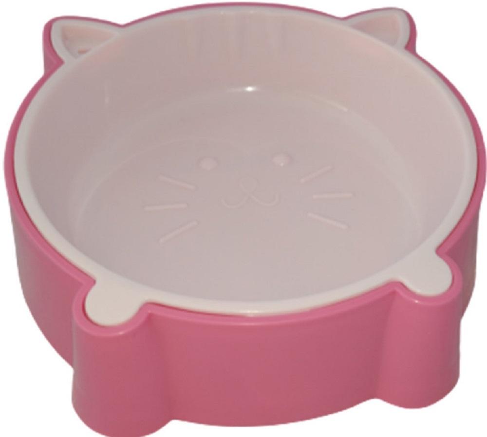 animall 113741 Animall Кошачья мордочка Миска P911, розовый