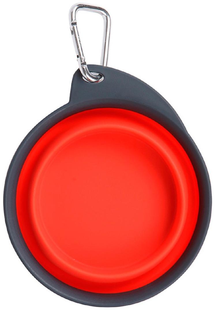 dexas dx30663 Dexas Travel Cup Миска складная дорожная 240 мл, красный