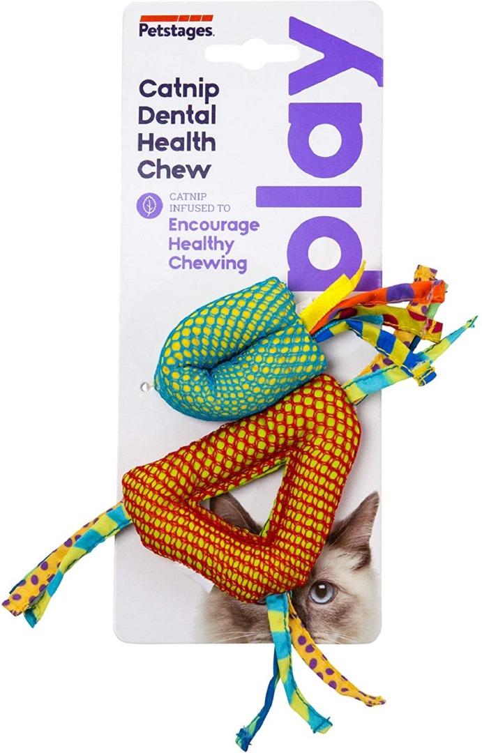 petstages pt326 Petstages Catnip Dental Health Chew Набор игрушек с кошачьей мятой, 2 шт
