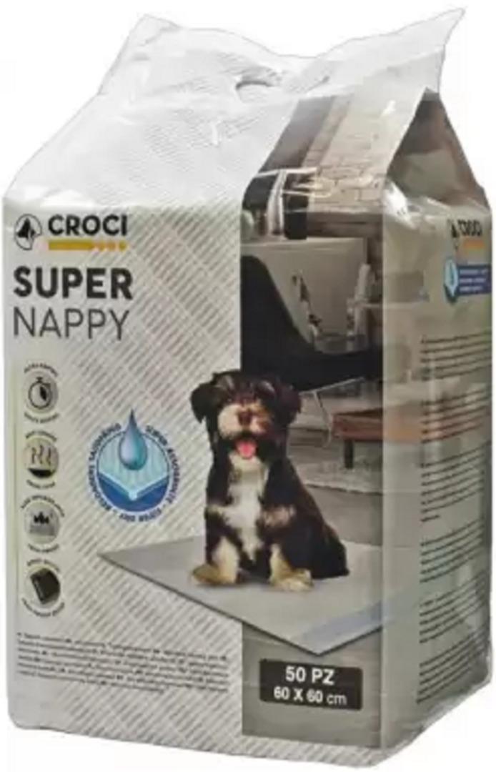 crocispa 012073 Croci Super Nappy Пеленки для собак 60х60, 10 шт