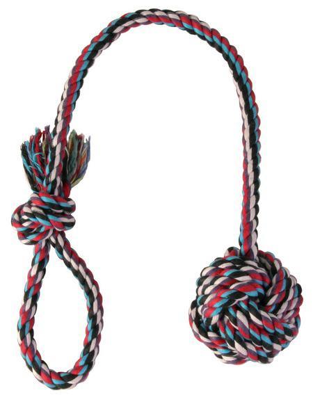 Игрушка для собаки из веревки своими руками