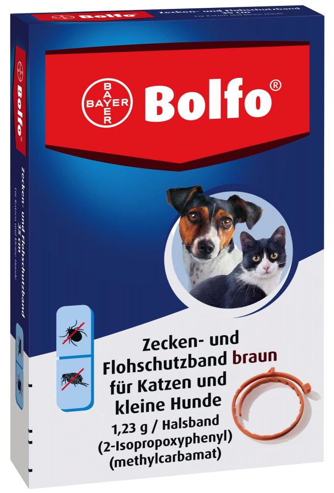 bayer Bayer Больфо ошейник для котов и собак от блох и клещей, 35 см